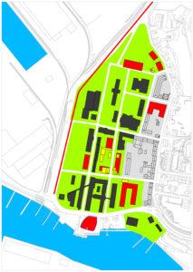 Abriss- und Neubauplan GMSH